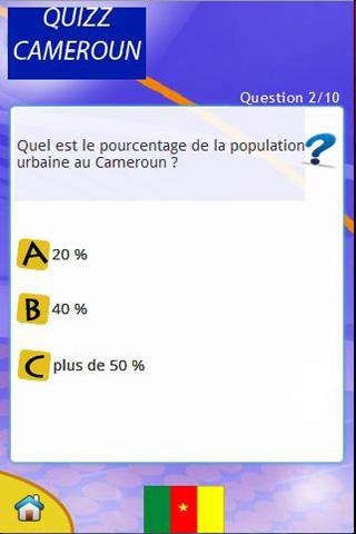QUIZ-CAMEROUN