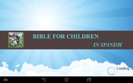 Children Bible In Spanish