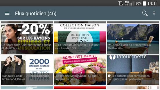 Max de bons plans+codes promos - screenshot thumbnail