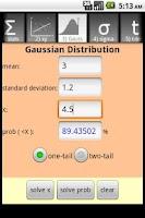Screenshot of QuickStat Premium