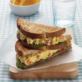 Curried Egg Salad Sandwich.