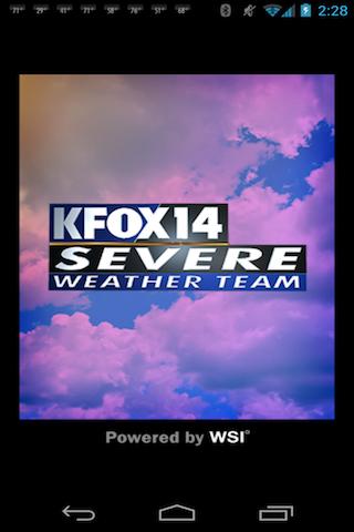 KFOX14 WX - screenshot