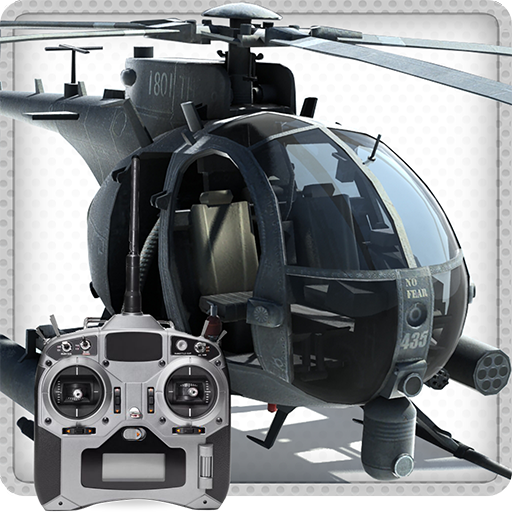 RC Helicopter Flight 3D Icon
