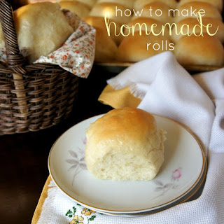 Make Homemade Rolls