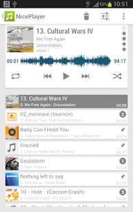NicePlayer music player- screenshot thumbnail