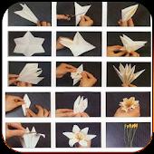 Origami as oriental art