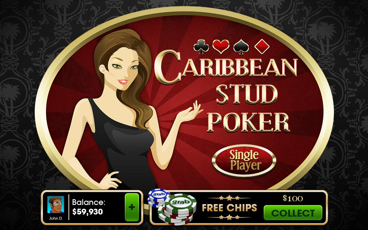 Caribbean Stud Poker - screenshot