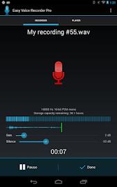Easy Voice Recorder Pro Screenshot 9
