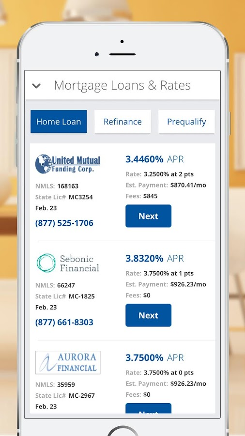 Mortgage and Loan Calculator- screenshot