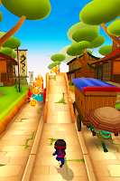 Screenshot of Ninja Kid Run Free - Fun Games
