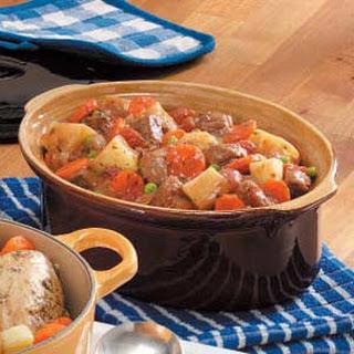 Winter Oven Beef Stew.
