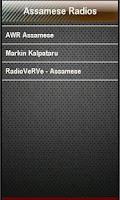 Screenshot of Assamese Radio Assamese Radios