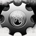 GO Theme Gears of Blazer EX logo