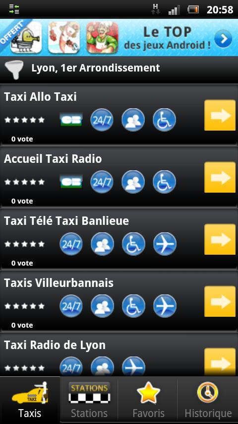 Taxi-Everywhere - screenshot