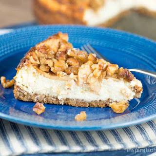 Apple Walnut Cheesecake