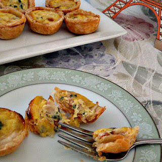 Mini Quiche Lorraine and Springtime in Paris!