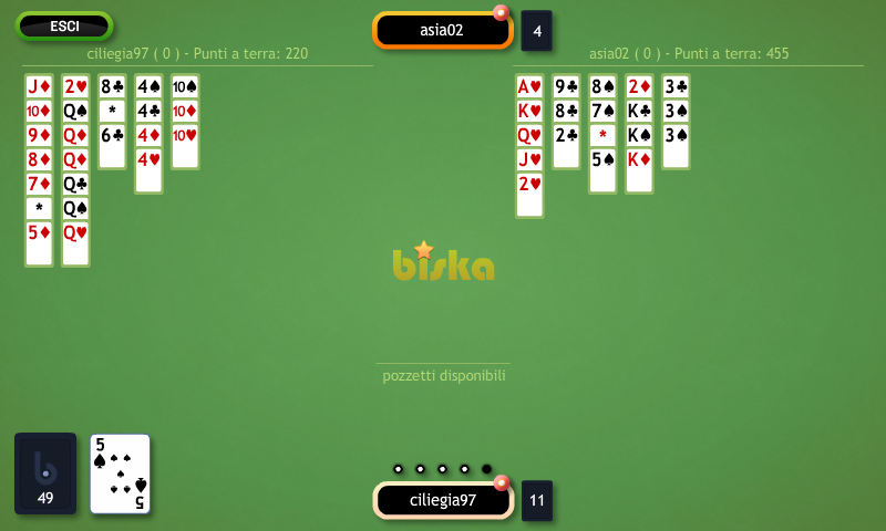 Biska - Burraco- screenshot