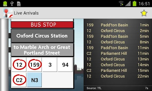 London Bus Checker - screenshot thumbnail