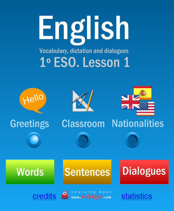 VedoqueEnglish1ESO- screenshot