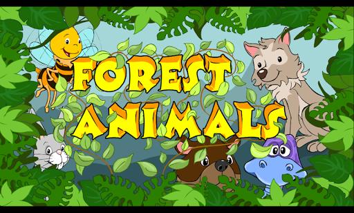 EDU Forest Animals