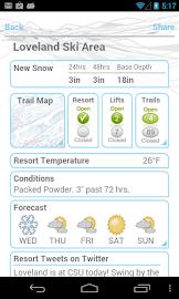 Ski and Snow Report Screenshot 2