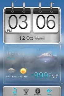3D Sense HTCstyle MXHome Theme - screenshot thumbnail