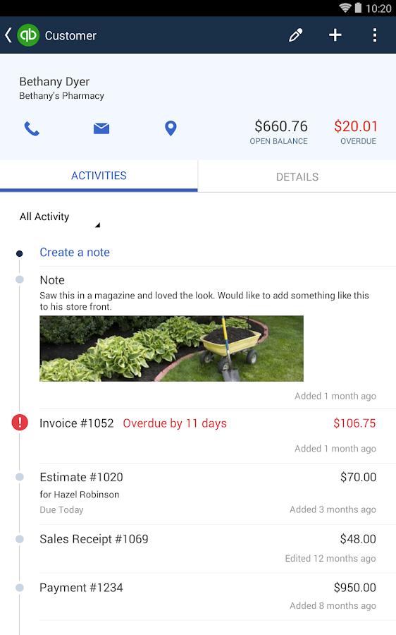 QuickBooks Online - screenshot