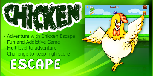 Chicken Escape - Jump and Run
