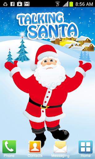 Christmas Talking Santa