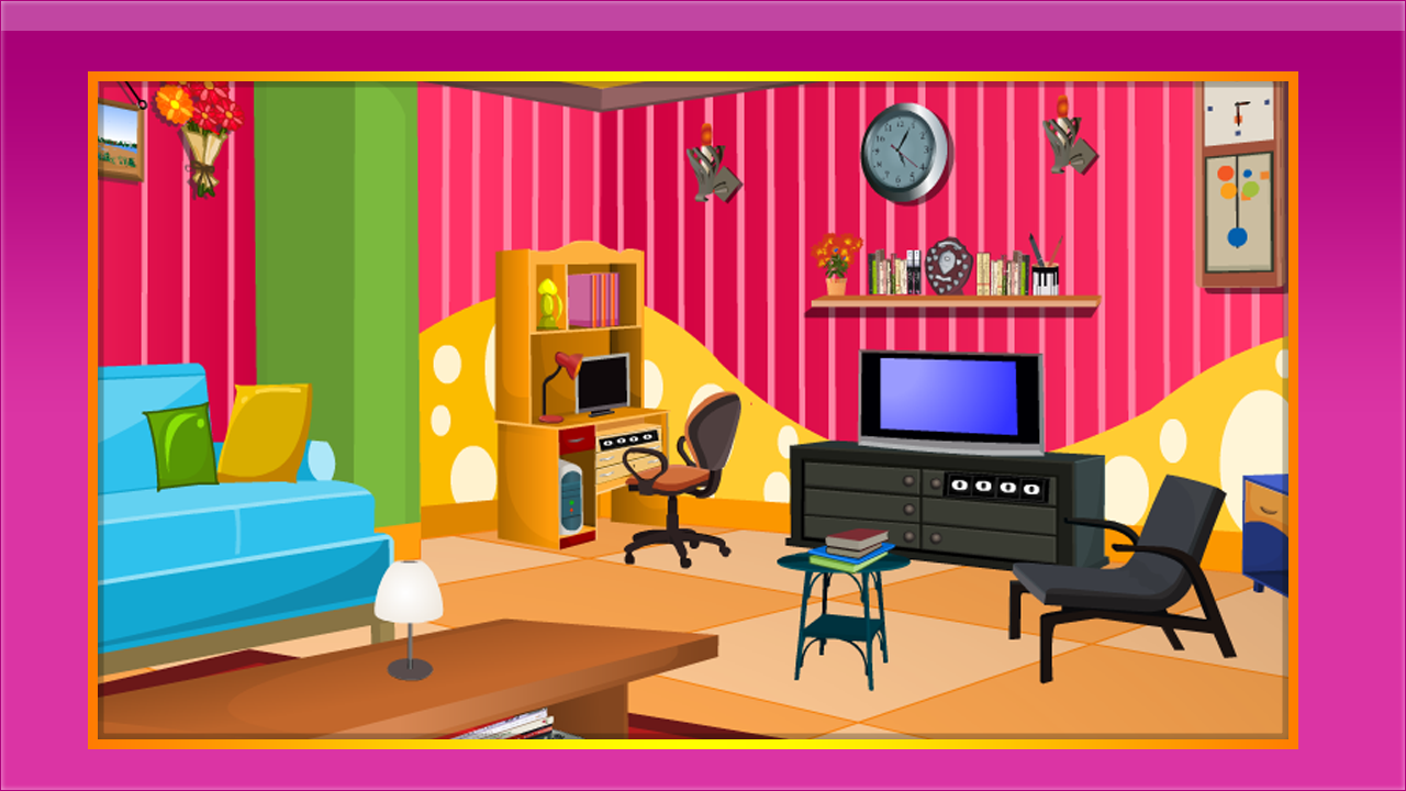 Pink living room escape apl android di google play for 8 living room blunders