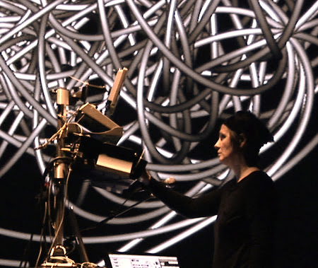 """<p> <a href=""""http://www.jamiegriffiths.com/water-to-bone/""""><strong>Water to Bone</strong></a> by Jamie Griffiths and Viviane Houle</p> <p> <em>Commissioned performance for Vancouver New Music, Vancouver, Canada, Oct 2010</em></p>"""