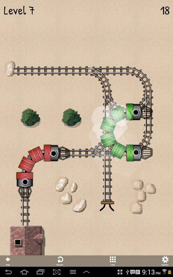 Unblock Train - screenshot