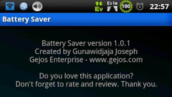 [Donate] Battery Saver