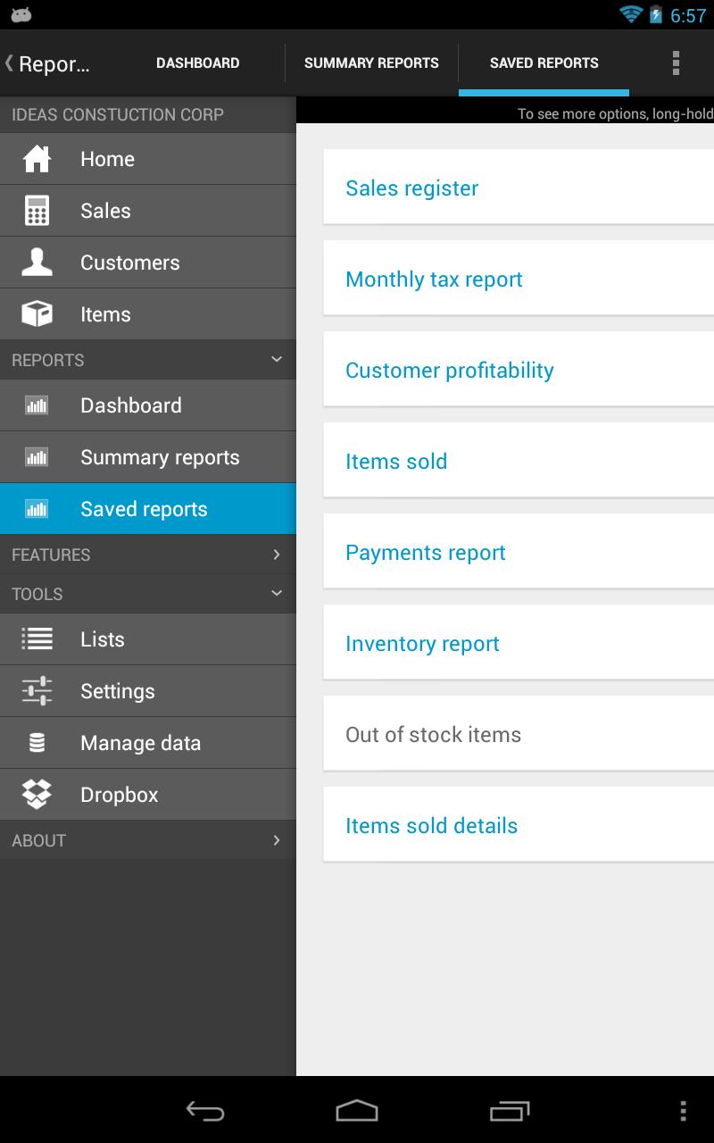 MobileBiz Pro - Invoice App Screenshot 12