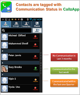 CallzApp- screenshot thumbnail