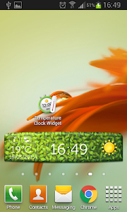 Temperature Clock Widget screenshot 4
