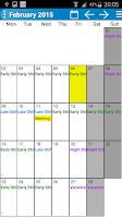 Screenshot of Shift Wage Planer Trial