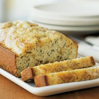 Poppy Seed Bread with Lemon Curd.