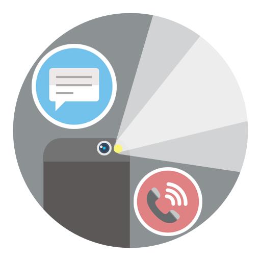 閃光警報在通話和短信 工具 App LOGO-硬是要APP