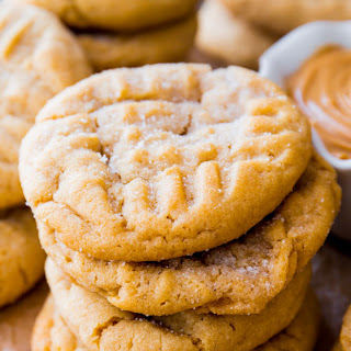 Classic Peanut Butter Cookies.