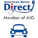 アメリカンホーム・ダイレクト自動車保険アプリ