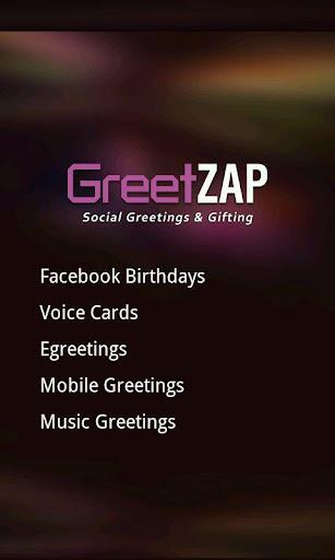 GreetZAP:Social VoiceGreetings