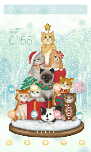 Cats Tree Dodol Theme