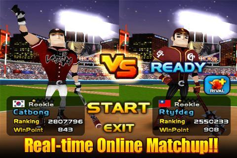 Homerun Battle 3D- screenshot