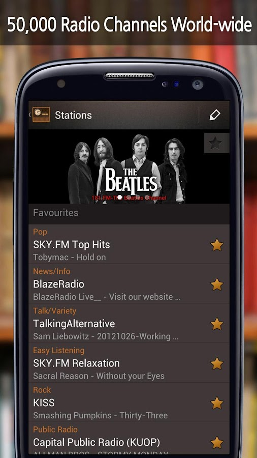 RadiON Free - screenshot