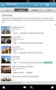 Barcelona Travel Guide Triposo- screenshot thumbnail