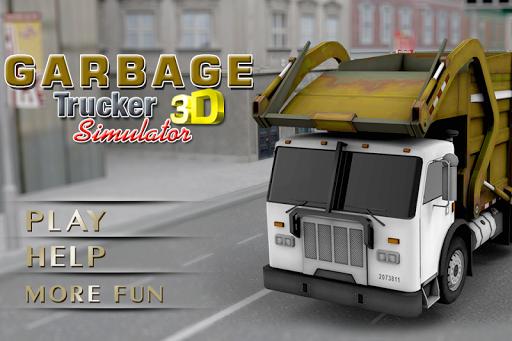 쓰레기 트럭 시뮬레이터 - 3D