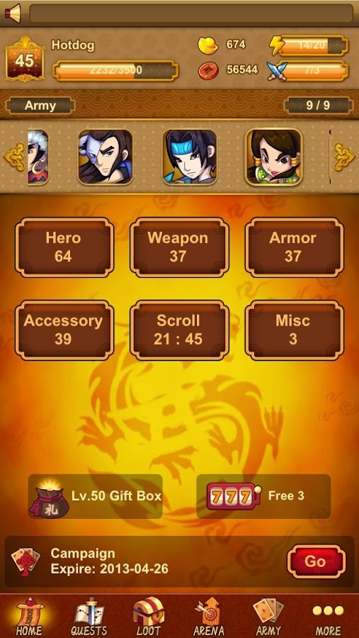 KungFu Legends - screenshot