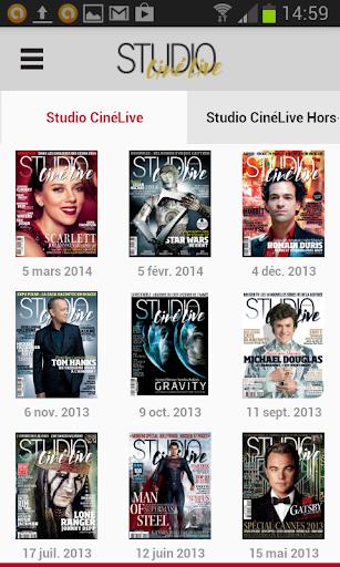 Studio Ciné Live - Magazine