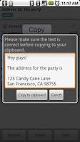 Screenshot of Copy Paste It